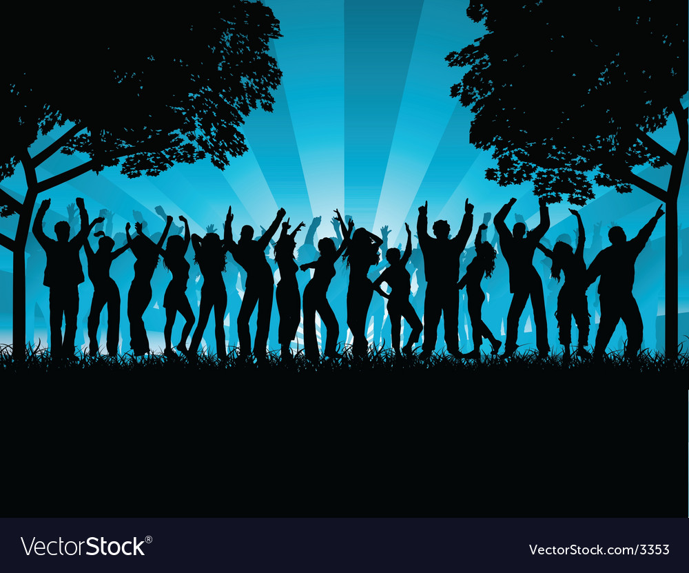 Outdoor party vector | Price: 3 Credit (USD $3)