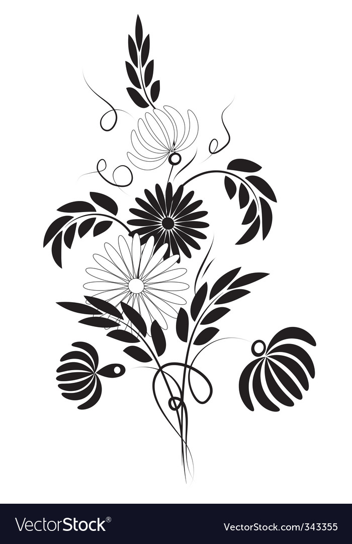 Dasies vector | Price: 1 Credit (USD $1)
