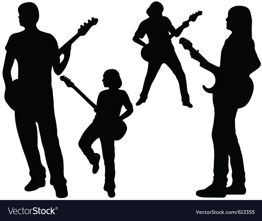 Singing band vector   Price: 1 Credit (USD $1)