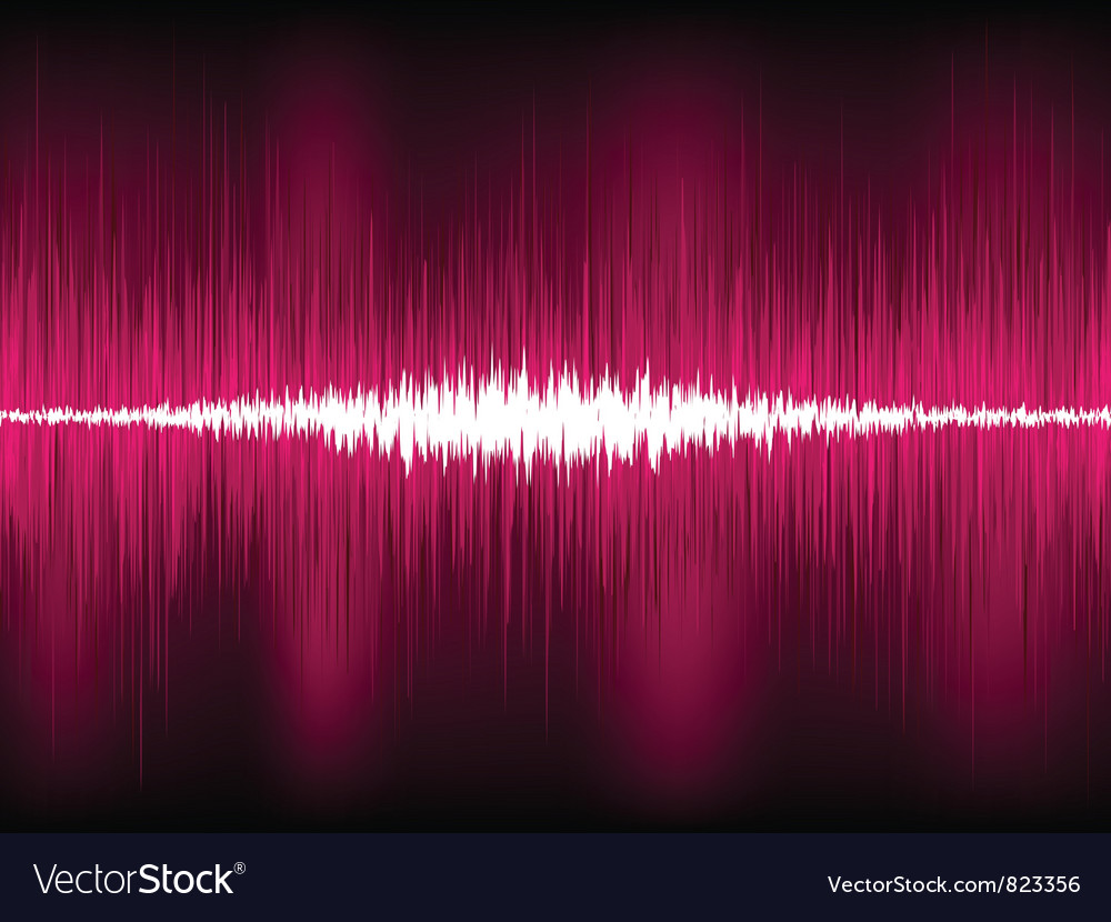 Abstract purple waveform vector | Price: 1 Credit (USD $1)