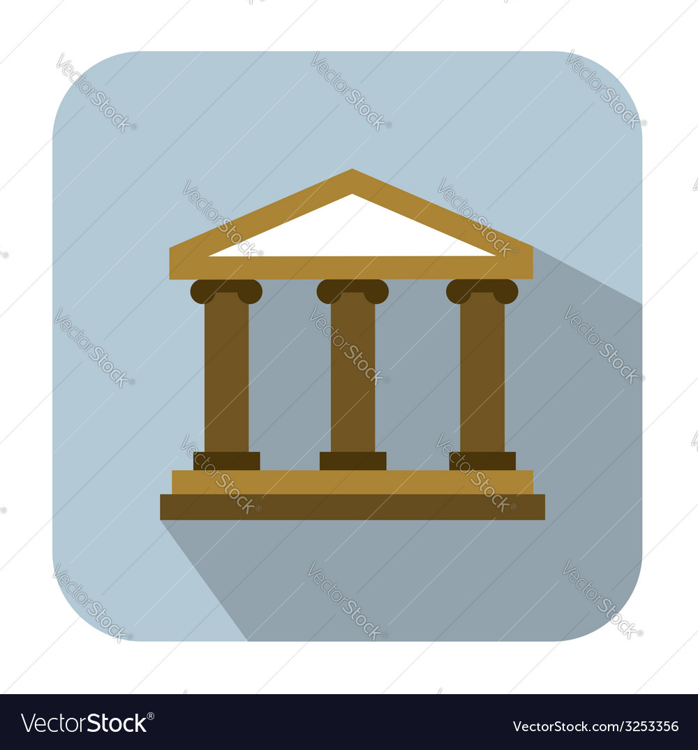 Bank icons vector | Price: 1 Credit (USD $1)