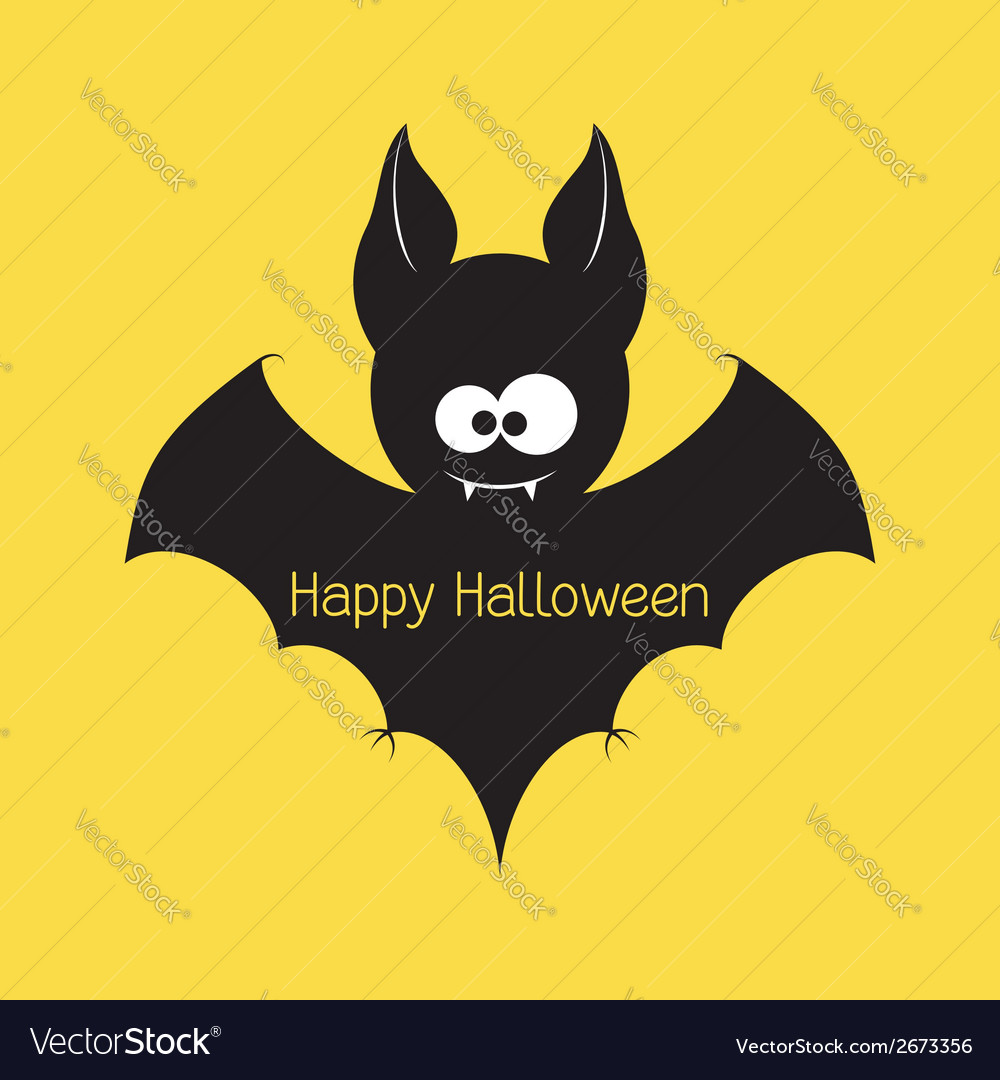 Halloween bat vector | Price: 1 Credit (USD $1)