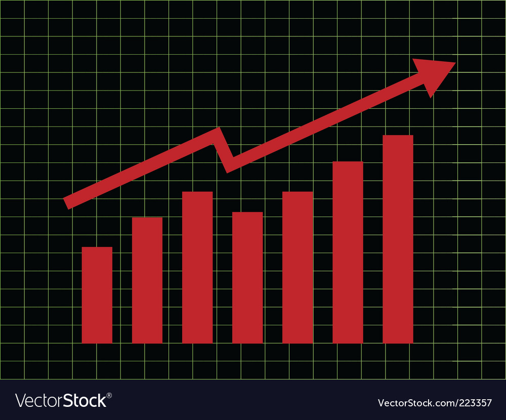 Business chart vector | Price: 1 Credit (USD $1)