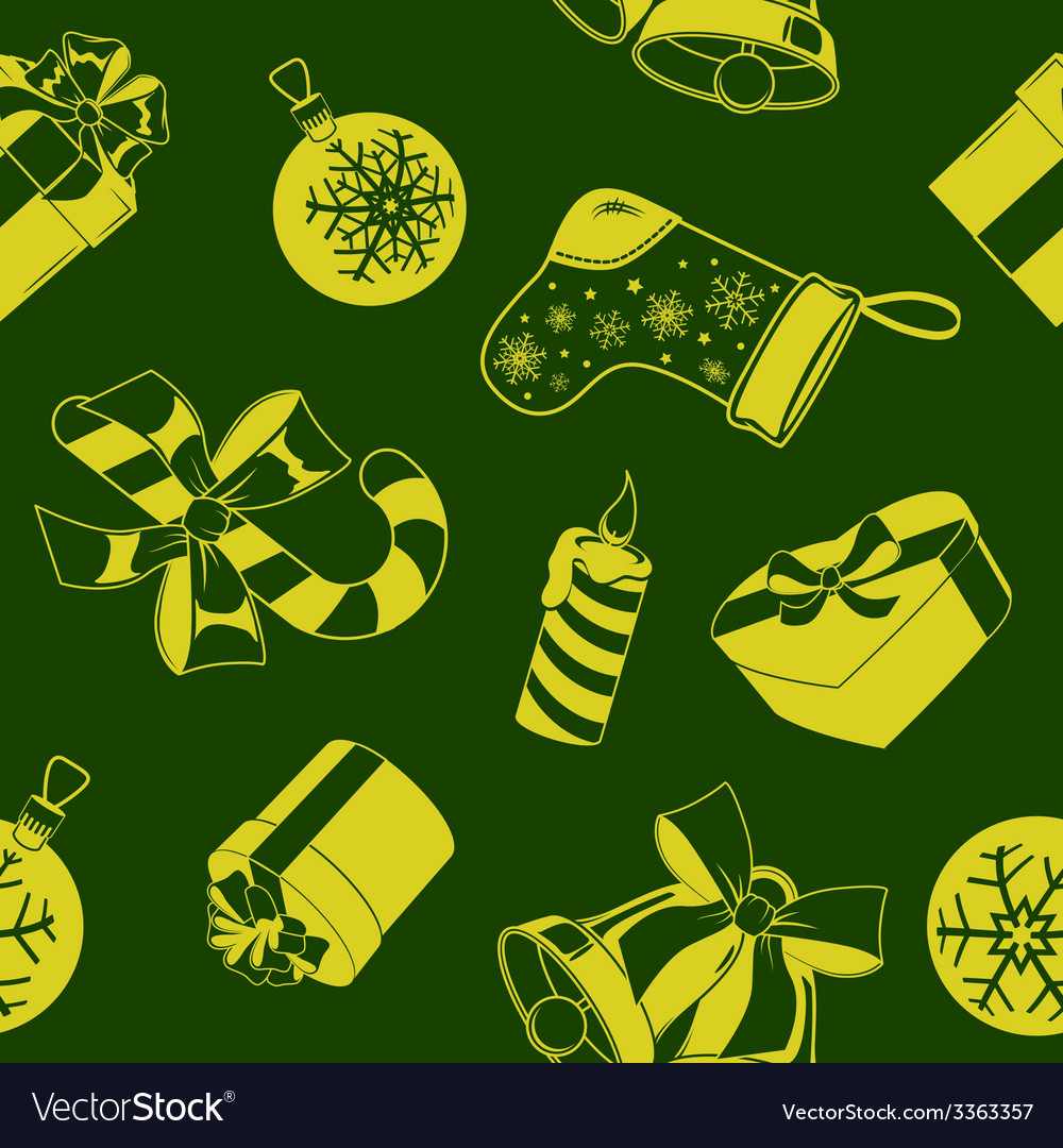 Christmas holiday seamless pattern vector   Price: 1 Credit (USD $1)