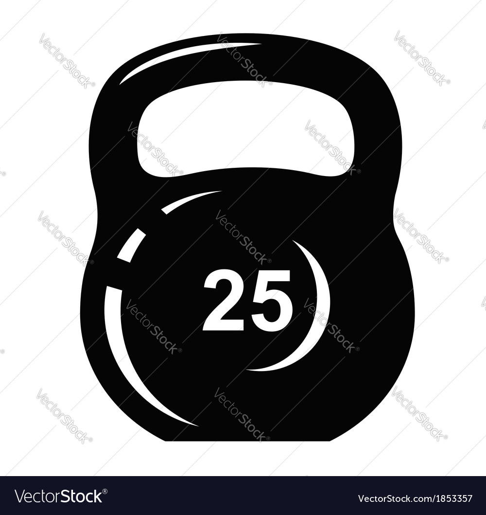 Kettlebell icon vector | Price: 1 Credit (USD $1)