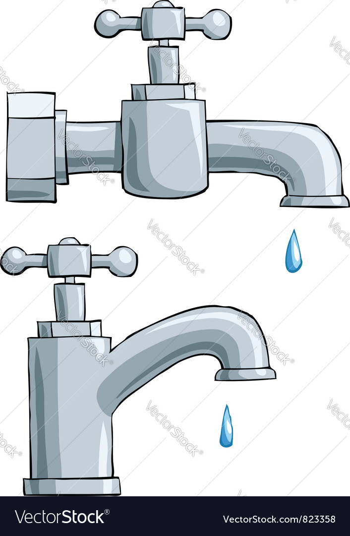 Faucet vector | Price: 1 Credit (USD $1)