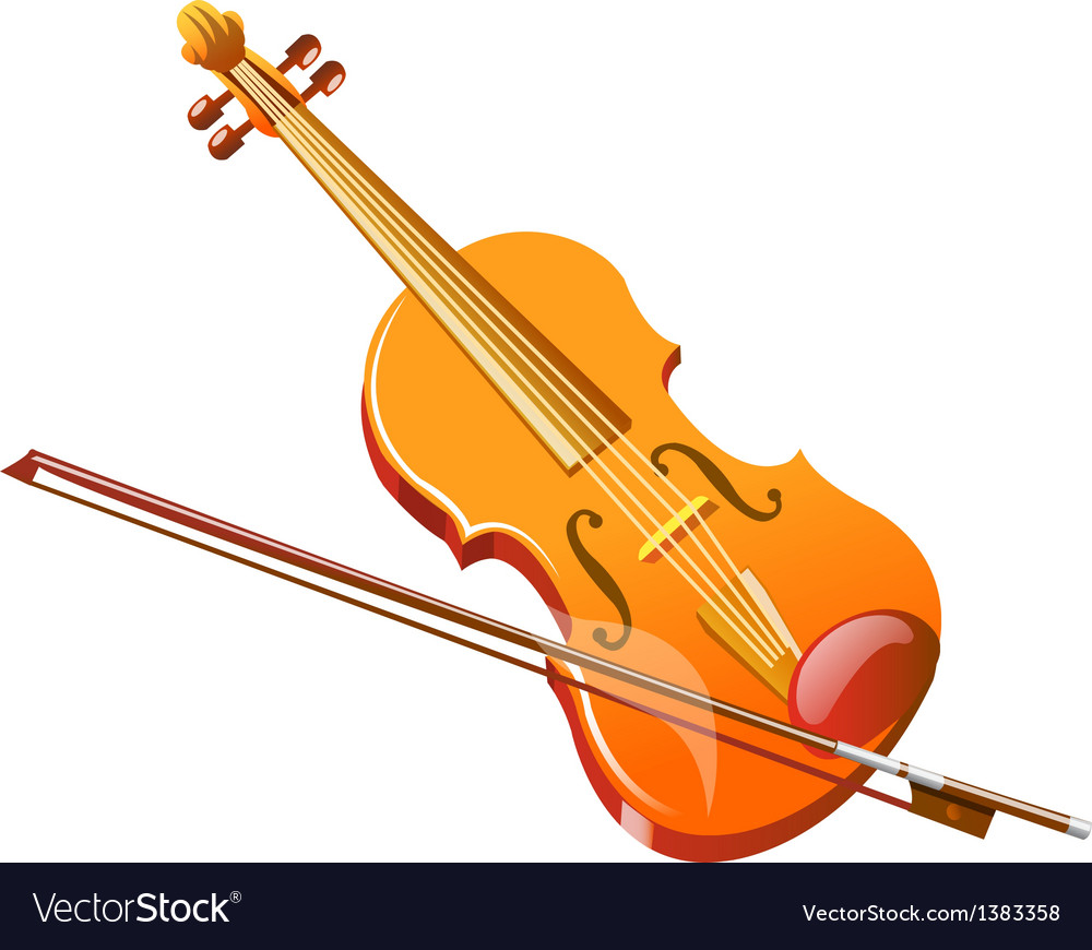 Icon violin vector | Price: 1 Credit (USD $1)