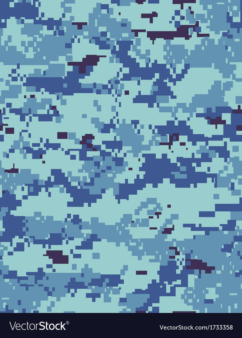 Ocean camo tileable vector | Price: 1 Credit (USD $1)