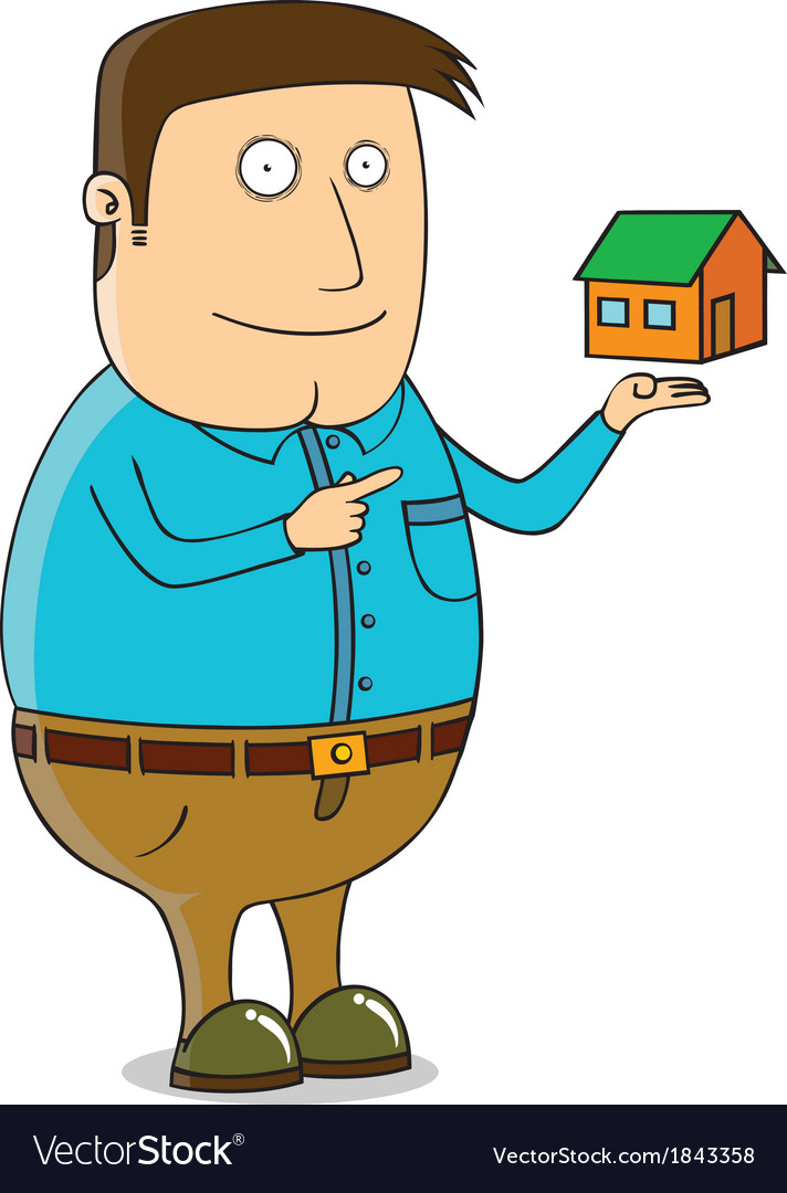 Offering mini house vector | Price: 1 Credit (USD $1)