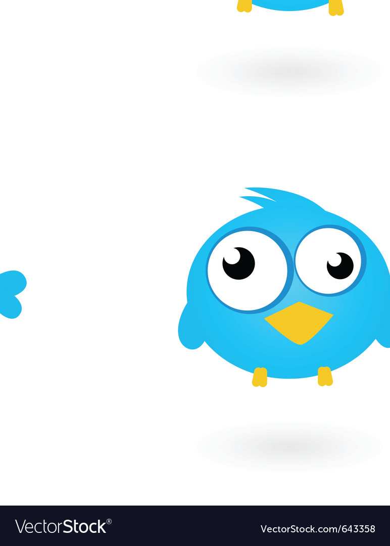 Twitter birds vector | Price: 1 Credit (USD $1)