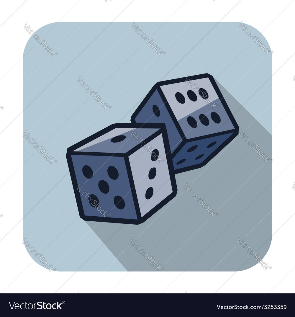 Dice cubes vector | Price: 1 Credit (USD $1)