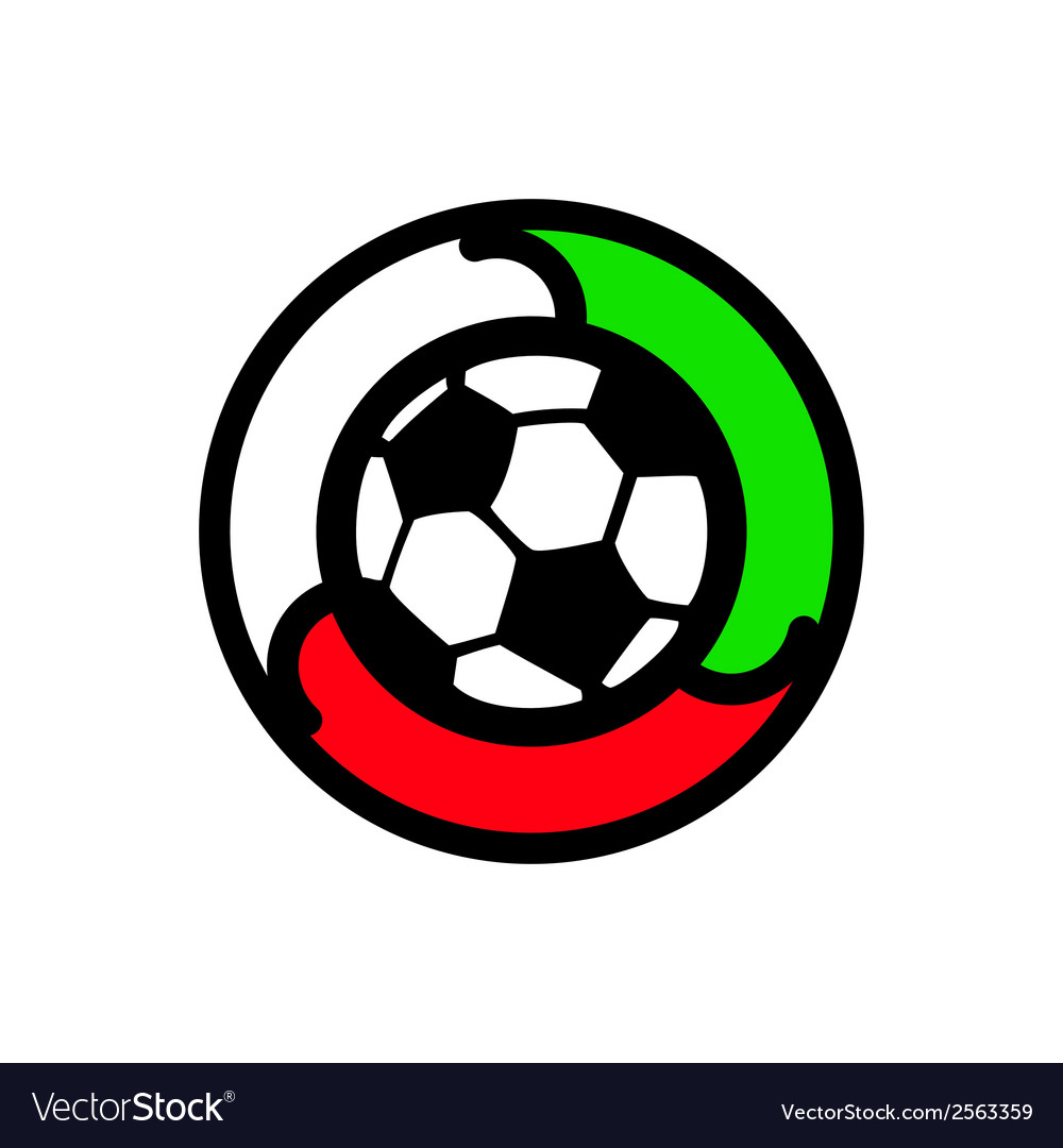 Soccer sign vector   Price: 1 Credit (USD $1)