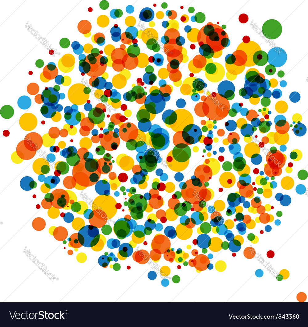 Abstract dotted background vector | Price: 1 Credit (USD $1)