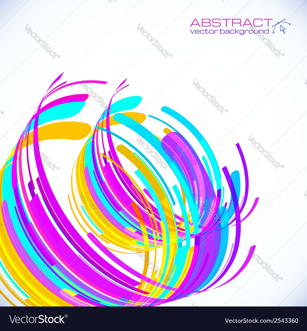 Abstract striped cylinders background vector | Price: 1 Credit (USD $1)