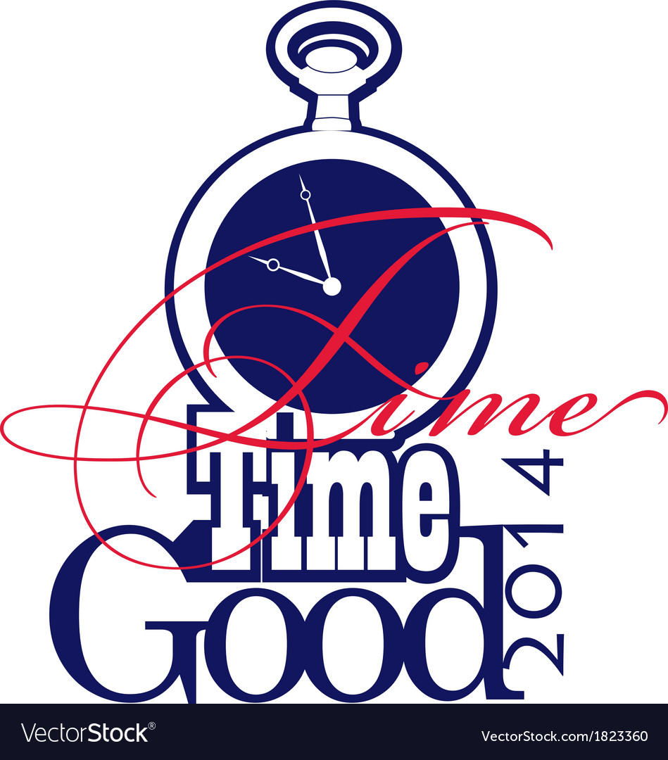 Good time 2d vector | Price: 1 Credit (USD $1)