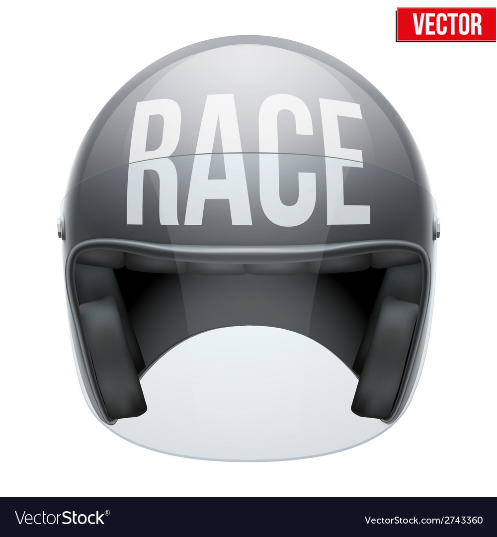 High quality racing motorcycle helmet vector | Price: 1 Credit (USD $1)