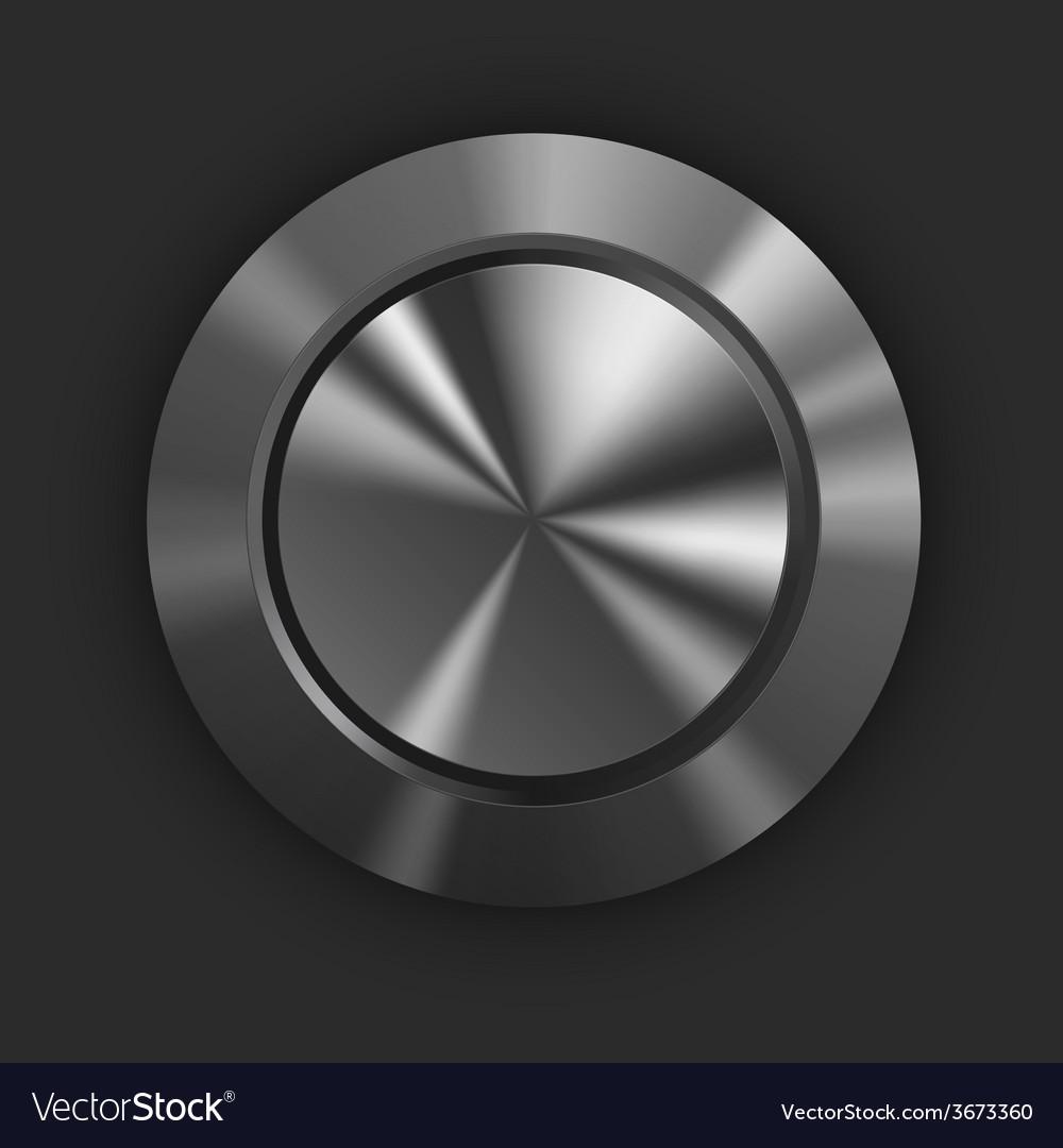 Metal button vector | Price: 1 Credit (USD $1)