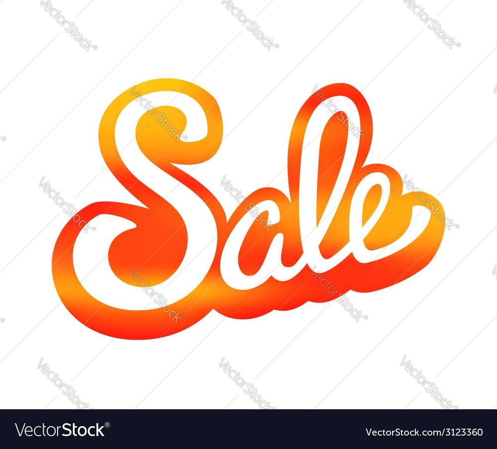 Sale design template background vector | Price: 1 Credit (USD $1)