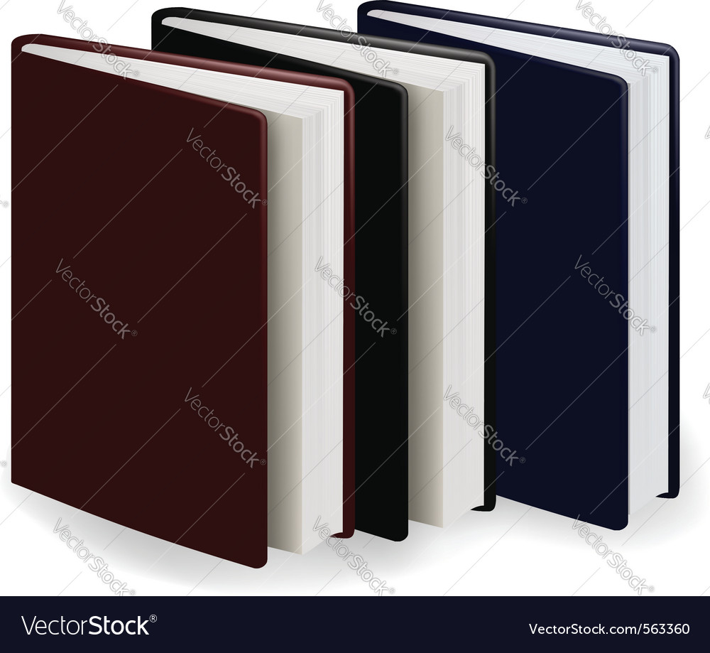 Three diary vector | Price: 1 Credit (USD $1)