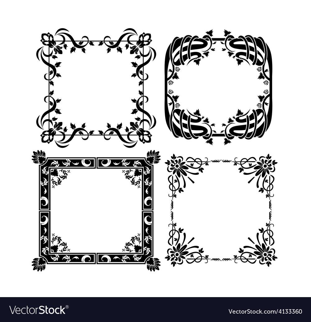 Vintage frames 3 vector | Price: 1 Credit (USD $1)