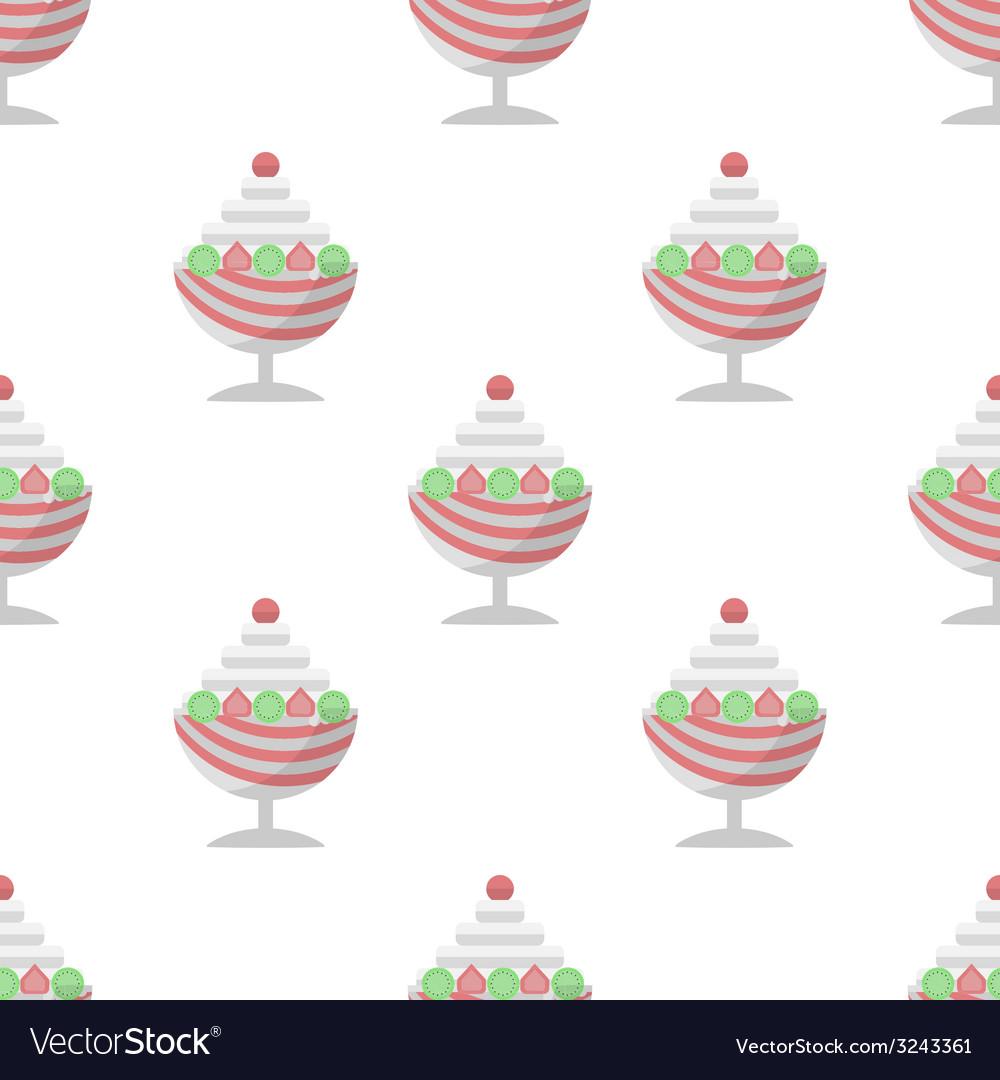 Background for ice cream dessert vector | Price: 1 Credit (USD $1)