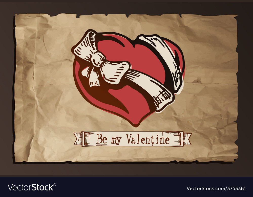Be my valentine vector | Price: 3 Credit (USD $3)