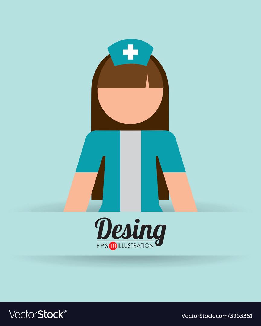 Nurse icon vector | Price: 1 Credit (USD $1)