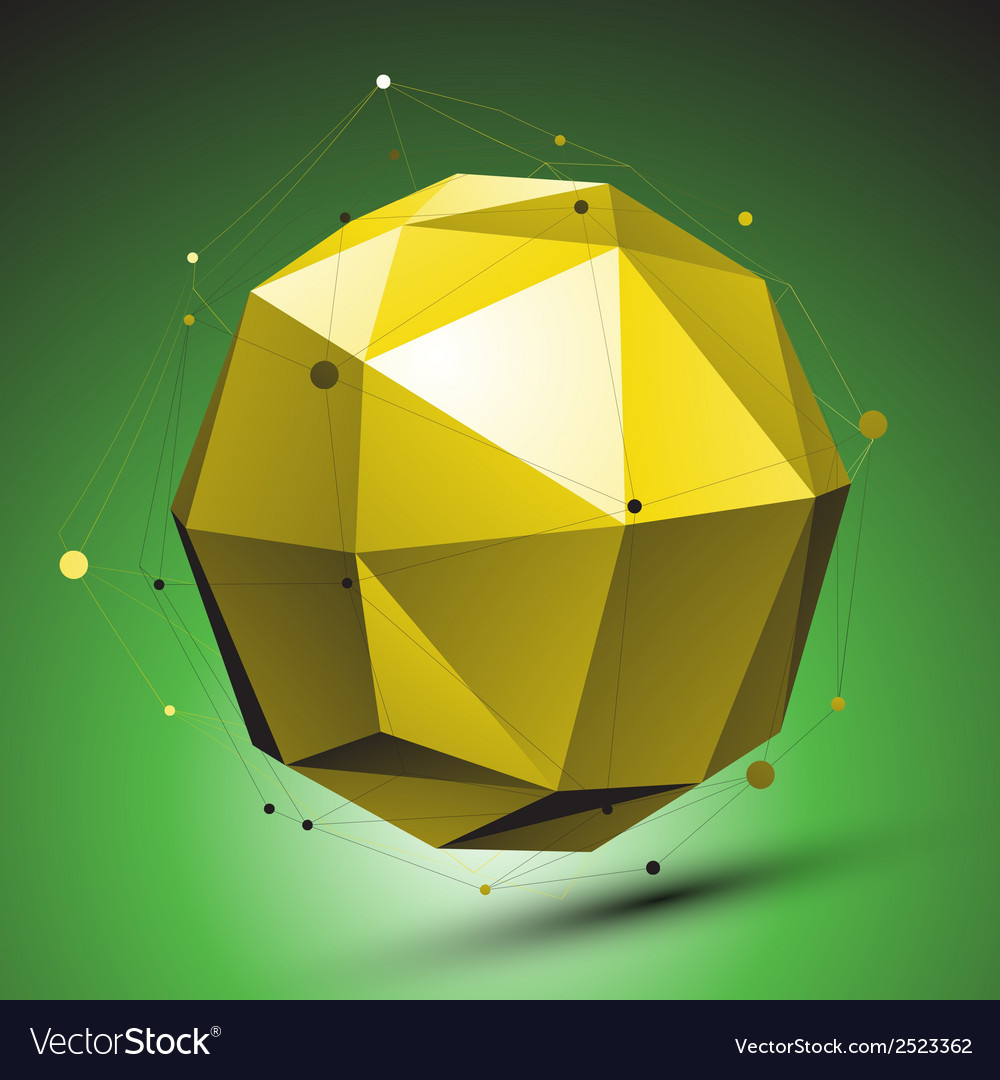 Abstract 3d structure green network backdrop vector | Price: 1 Credit (USD $1)