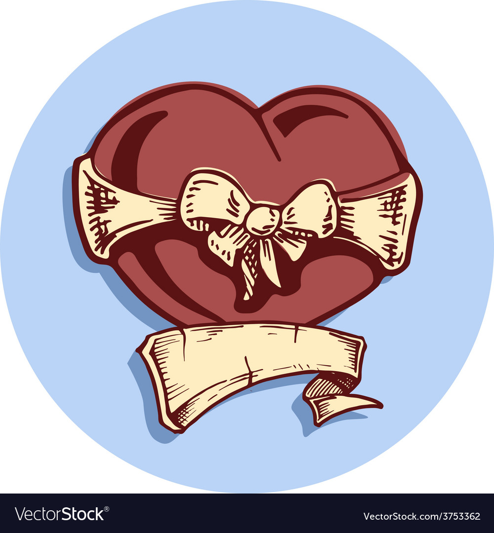 Heart tattoo vector | Price: 3 Credit (USD $3)