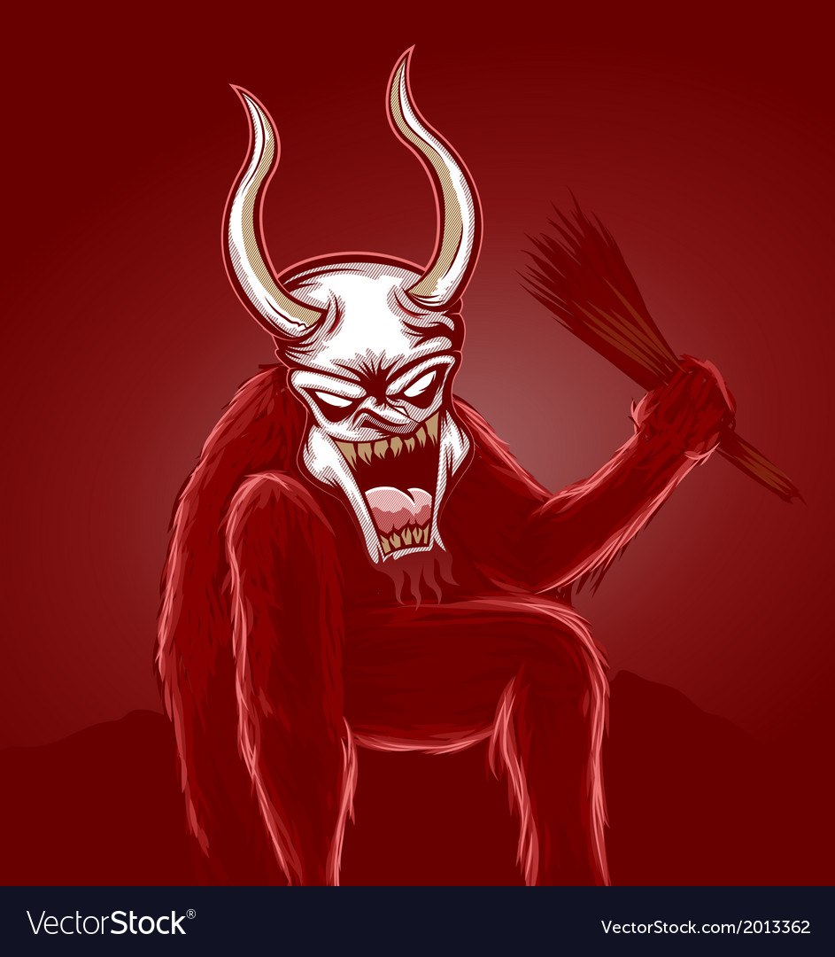Krampus vector | Price: 1 Credit (USD $1)