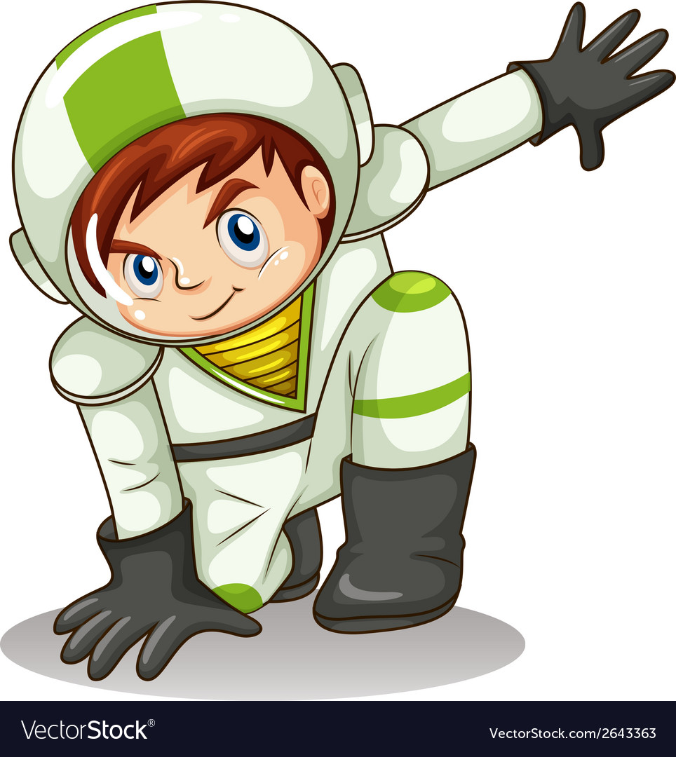 A young male explorer vector | Price: 1 Credit (USD $1)