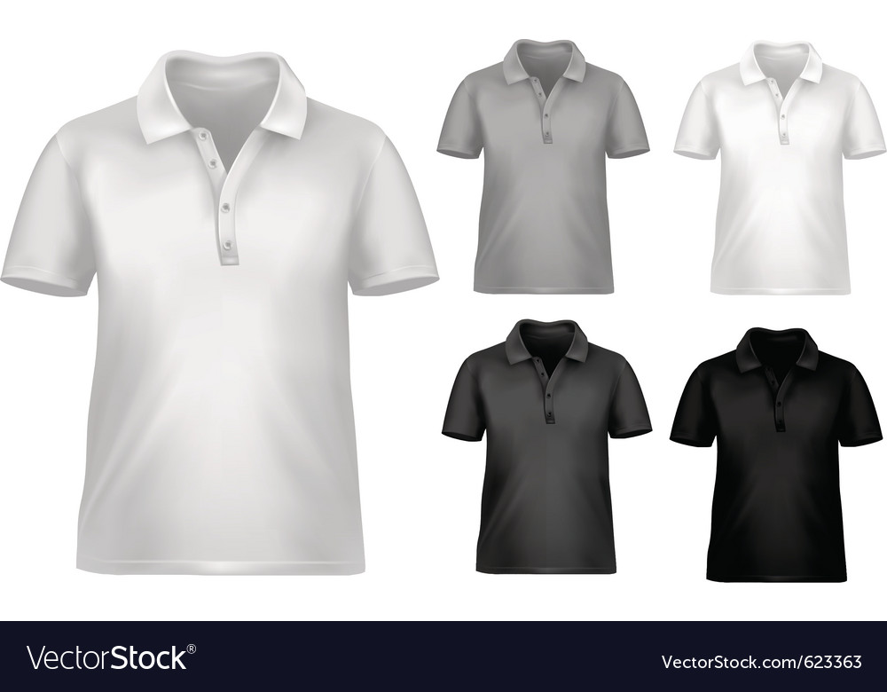 Black and white t-shirt design template vector | Price: 1 Credit (USD $1)