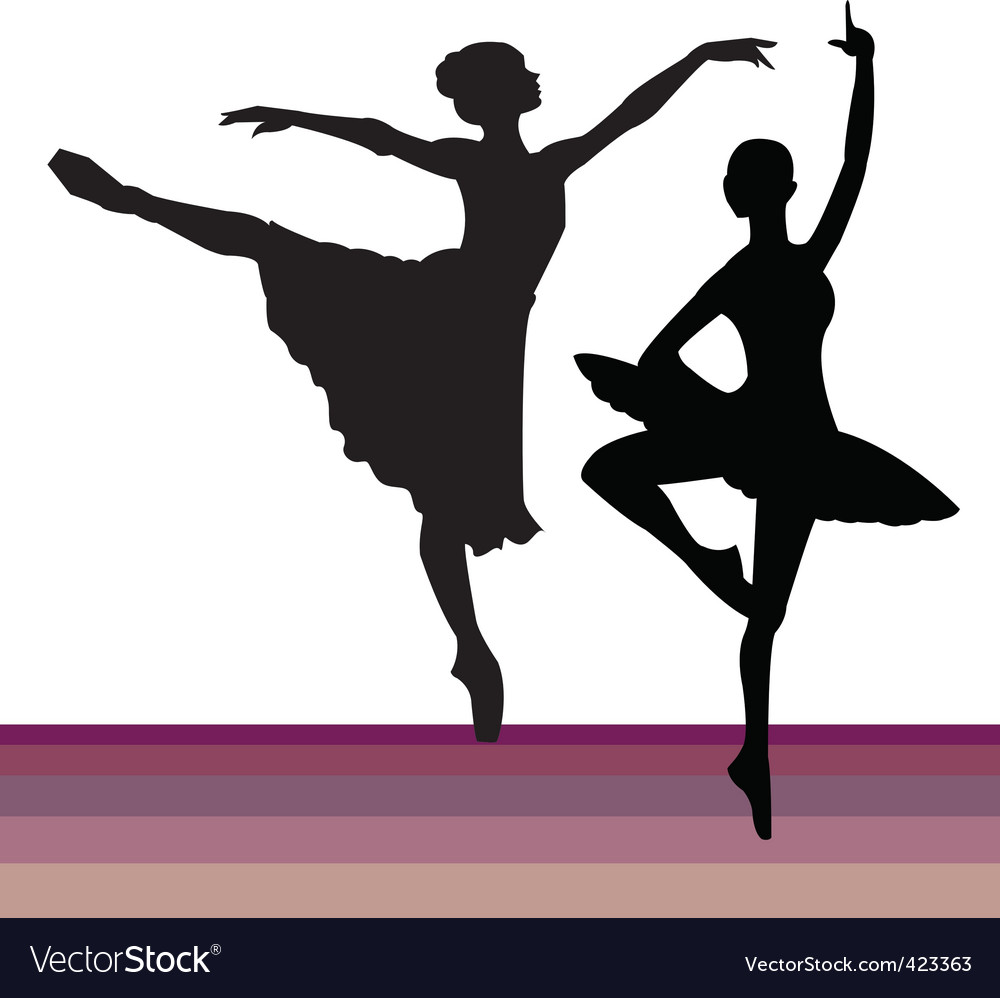 Pairs dancing vector | Price: 1 Credit (USD $1)