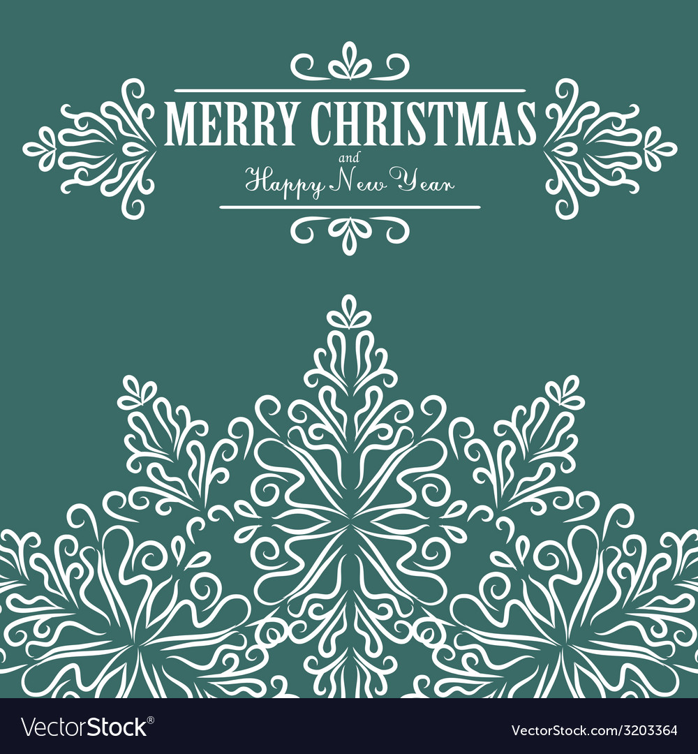 Vintage christmas background for invitation vector   Price: 1 Credit (USD $1)