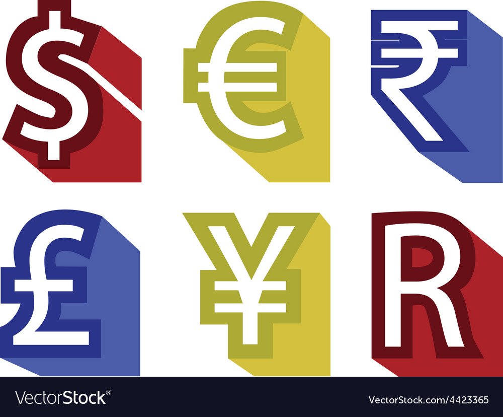 Currency no background vector | Price: 1 Credit (USD $1)