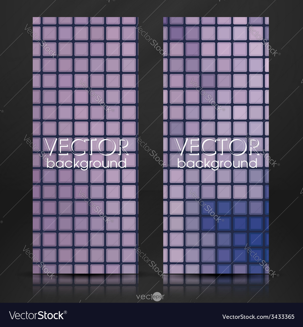 Mosaic tiles texture background vector | Price: 1 Credit (USD $1)