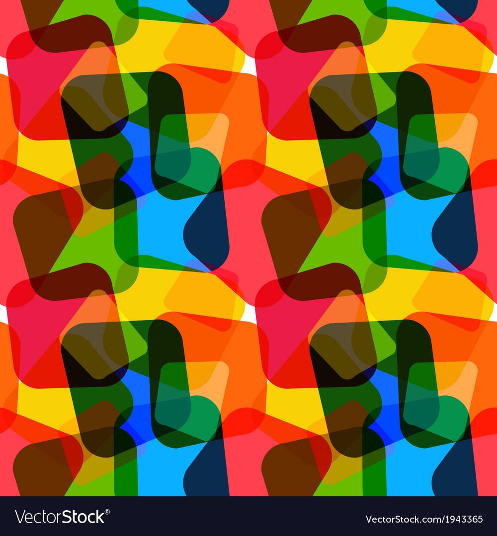 Seamless geometric wallpaper vector | Price: 1 Credit (USD $1)