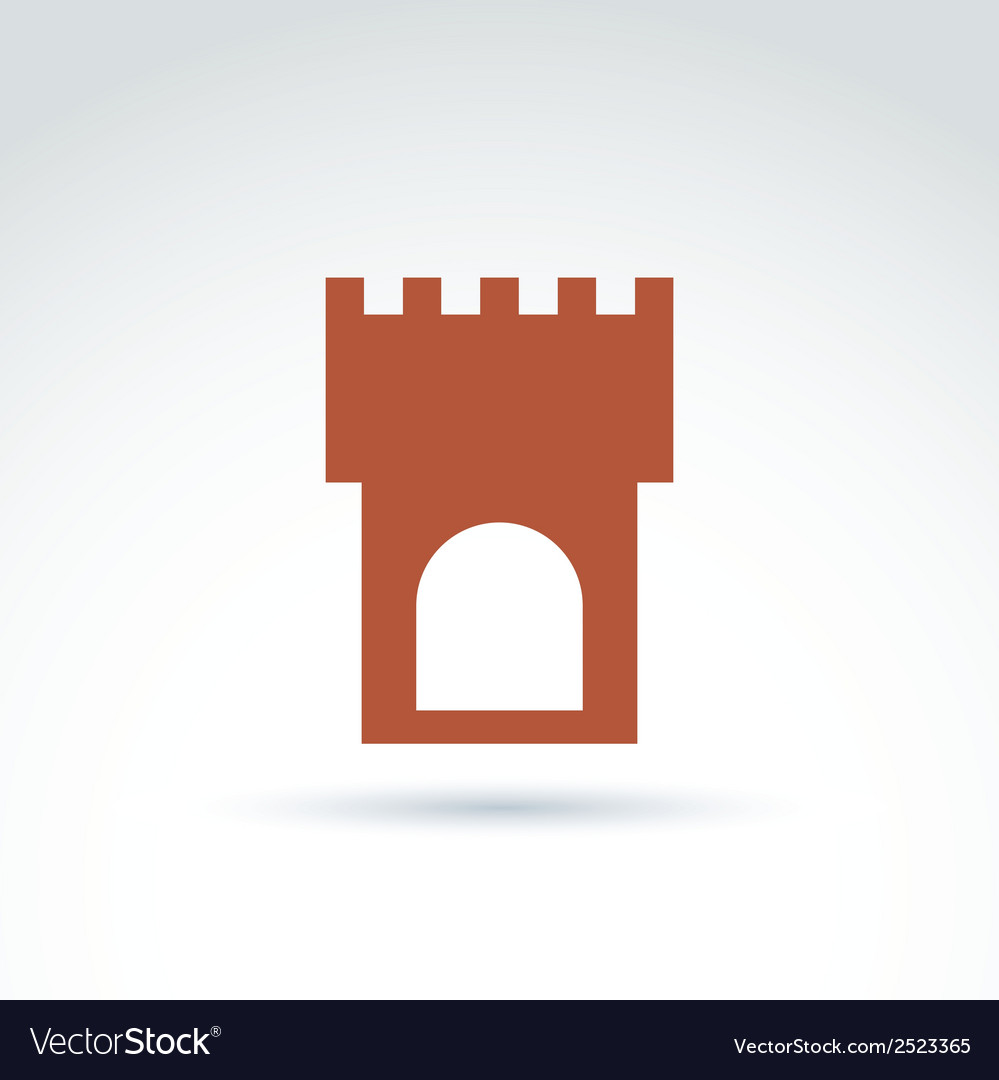 Tower historical monument symbol ancien vector | Price: 1 Credit (USD $1)