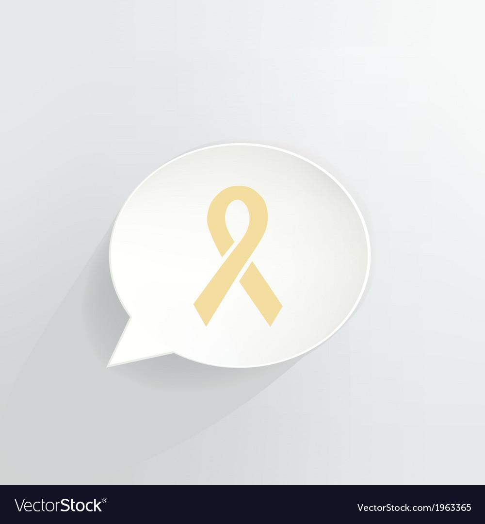 Yellow ribbon vector   Price: 1 Credit (USD $1)