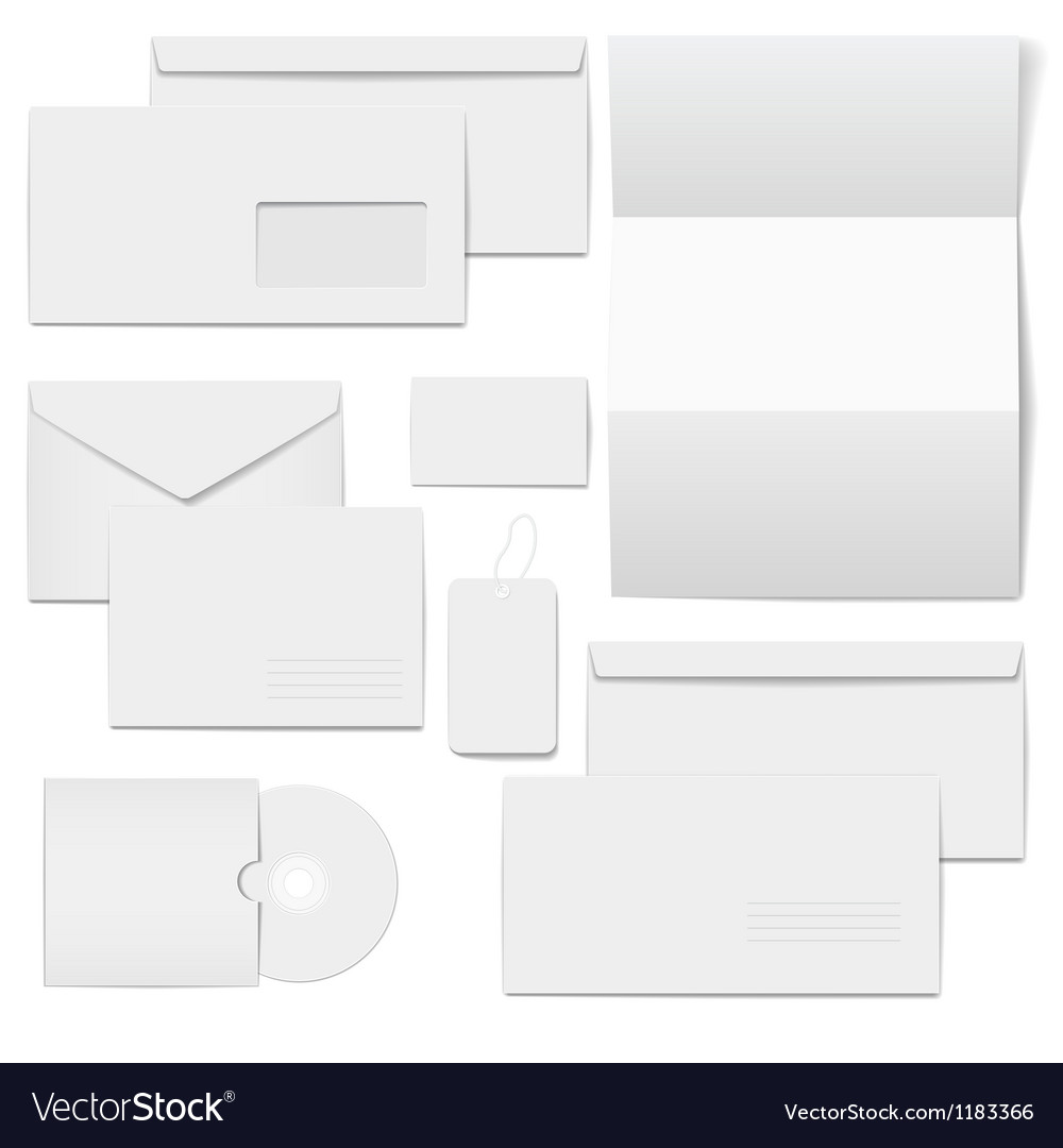 Corporate templates for business selected blank vector | Price: 1 Credit (USD $1)