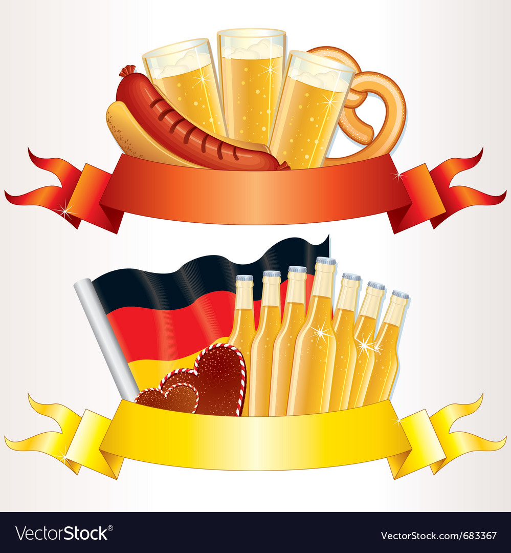 Octoberfest banners vector | Price: 1 Credit (USD $1)
