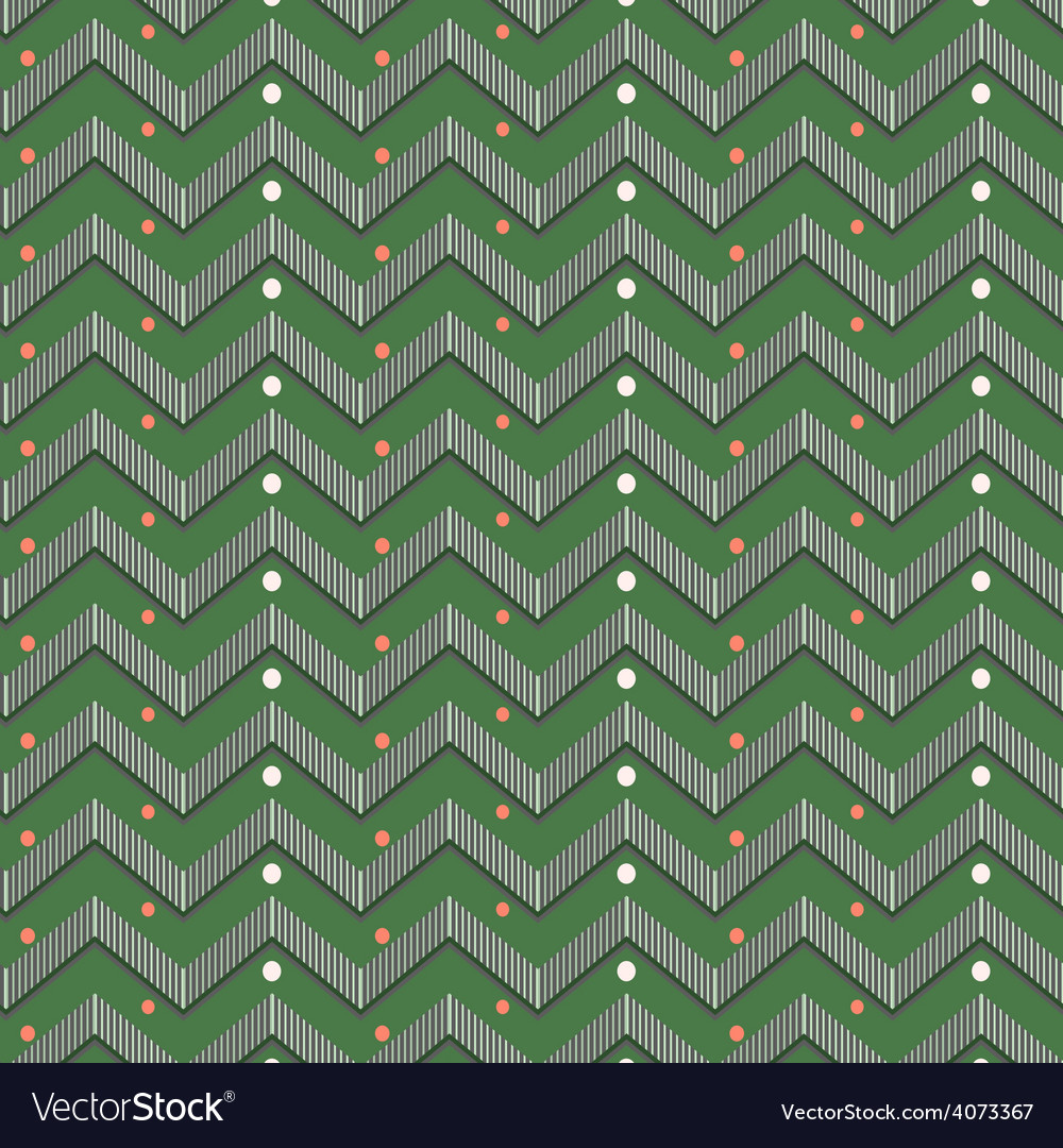 Zigzag christmas pattern vector   Price: 1 Credit (USD $1)