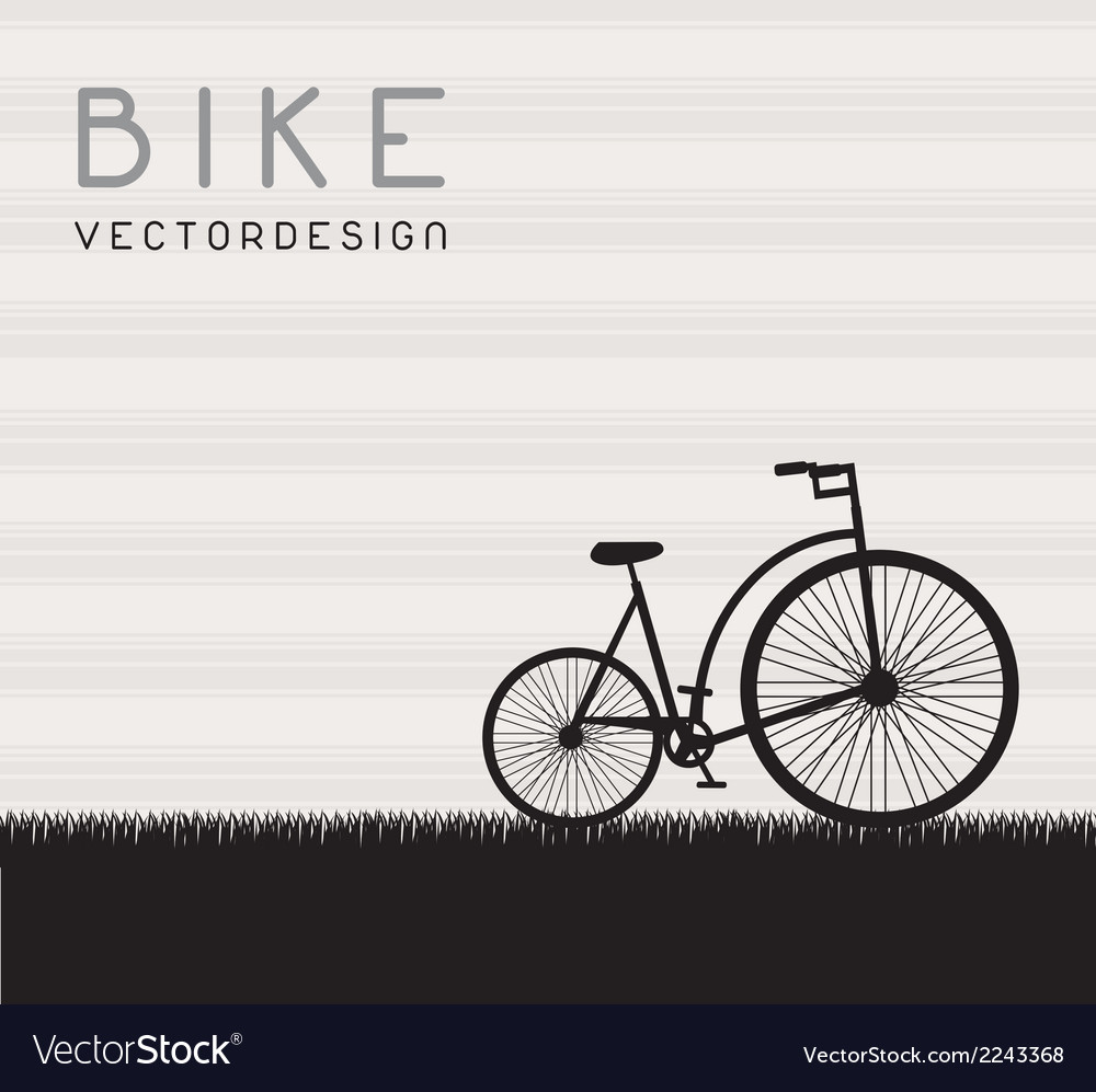 Bike vector | Price: 1 Credit (USD $1)