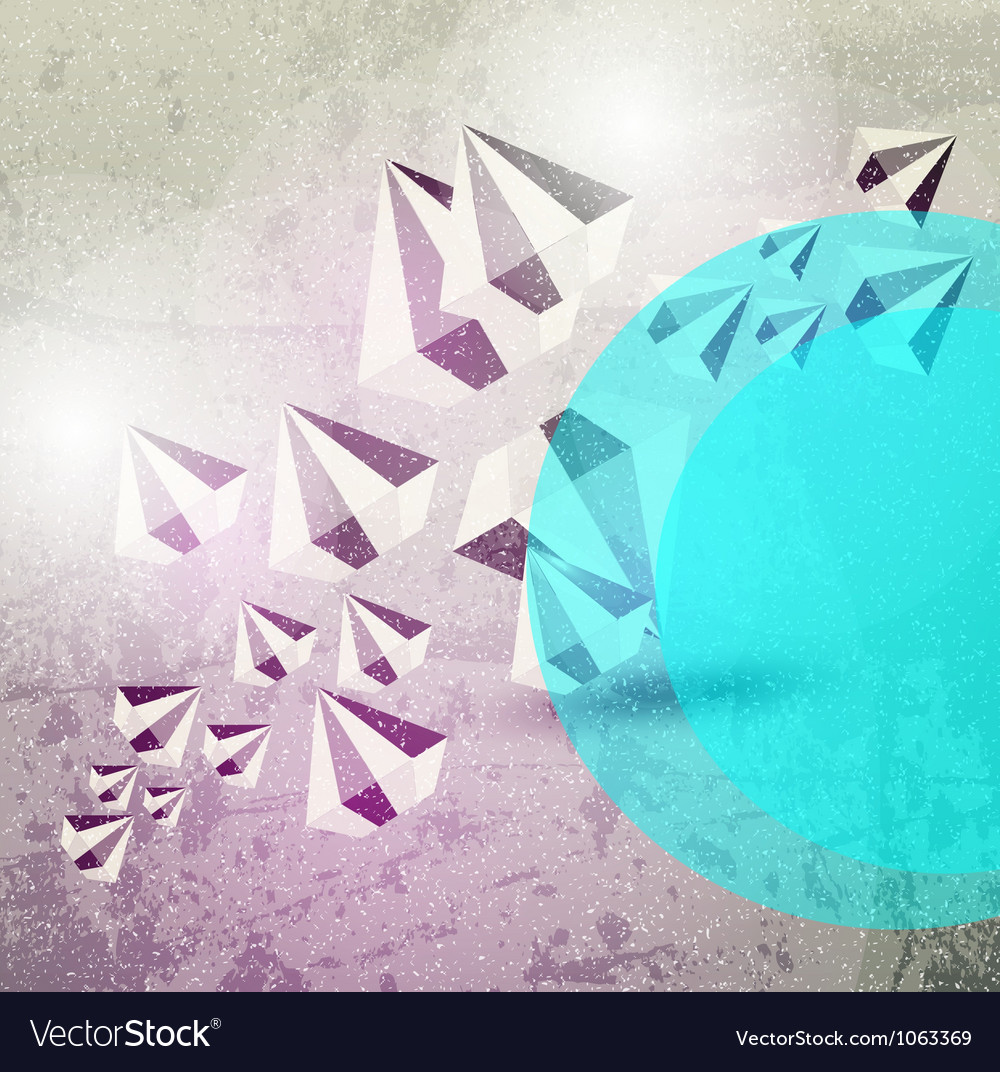 Abstract diamond background vector | Price: 1 Credit (USD $1)