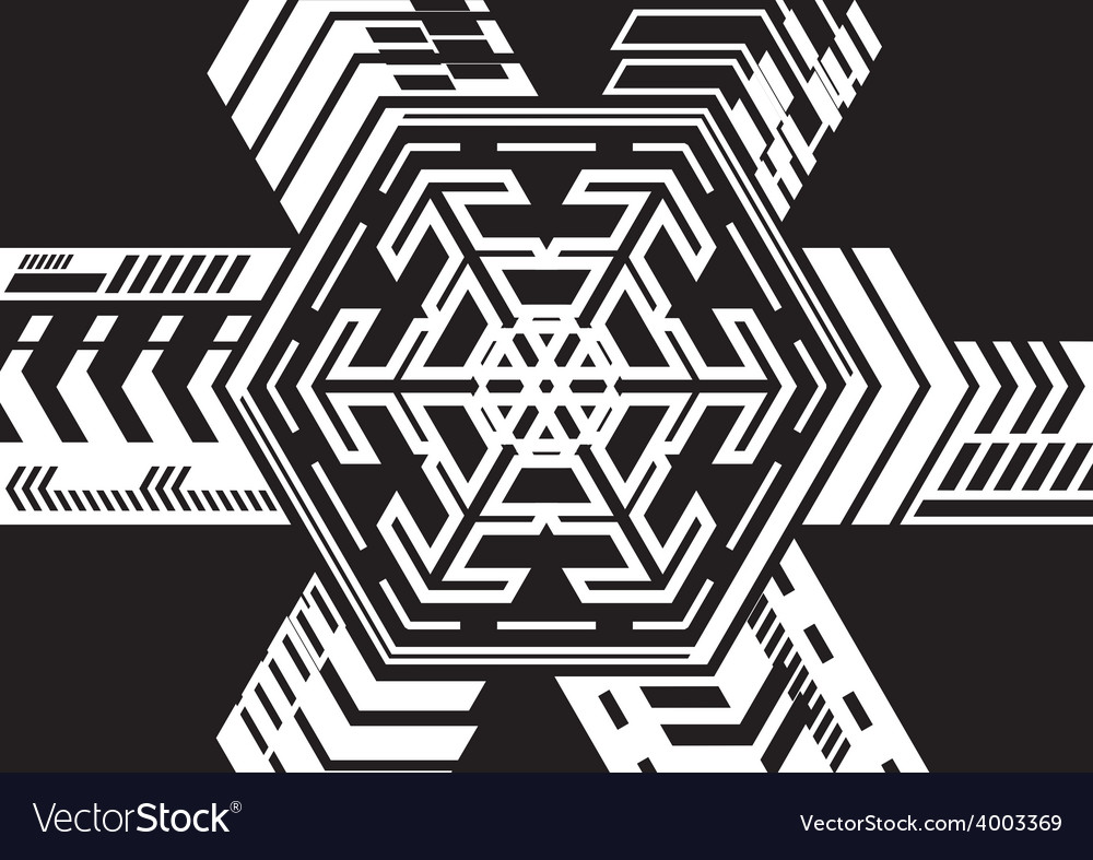 Hexagonal expansion vector   Price: 1 Credit (USD $1)