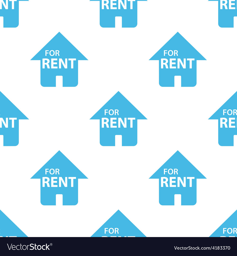 For rent seamless pattern vector | Price: 1 Credit (USD $1)