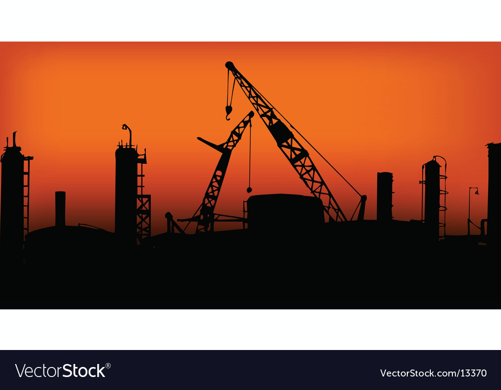 Industry silhouette vector | Price: 1 Credit (USD $1)