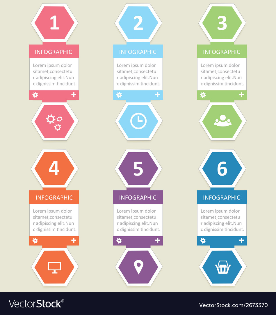 Infographic 6 vector | Price: 1 Credit (USD $1)