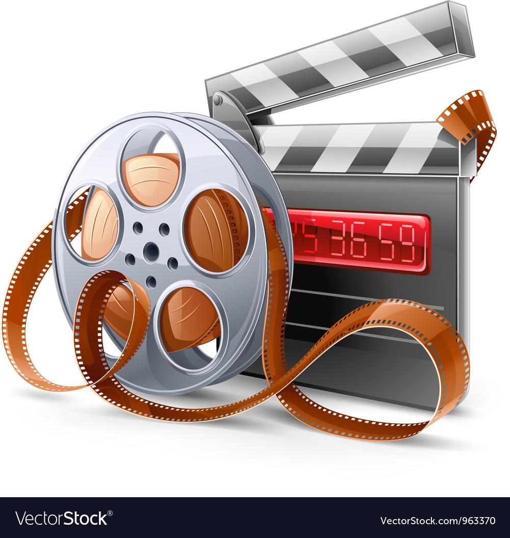 Movie elements vector | Price: 3 Credit (USD $3)