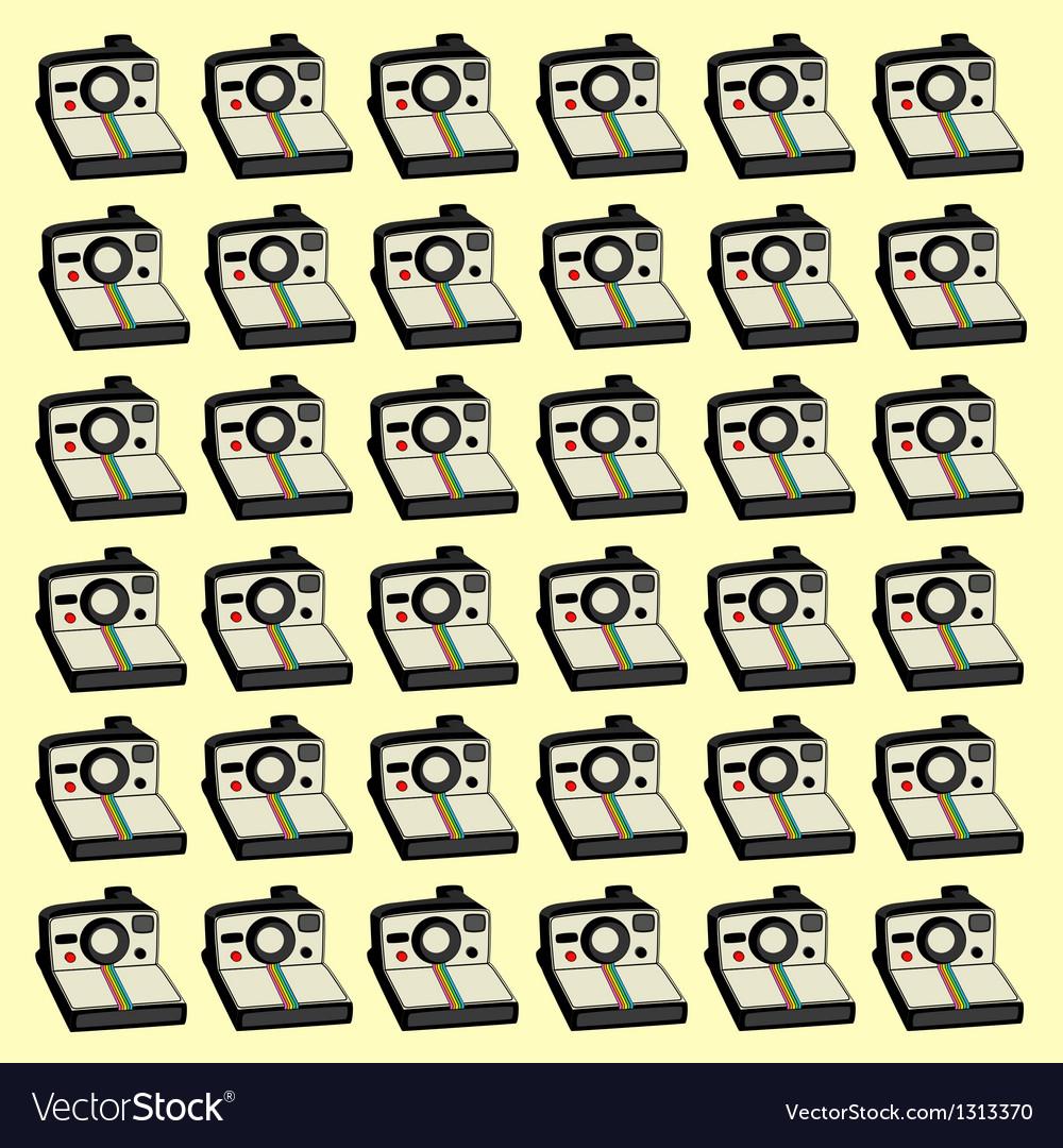 Polaroids background vector | Price: 1 Credit (USD $1)